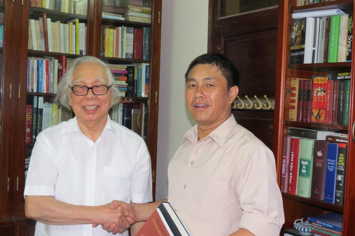 Nhà báo Phan Quang xuất sắc liền hai thế kỷ