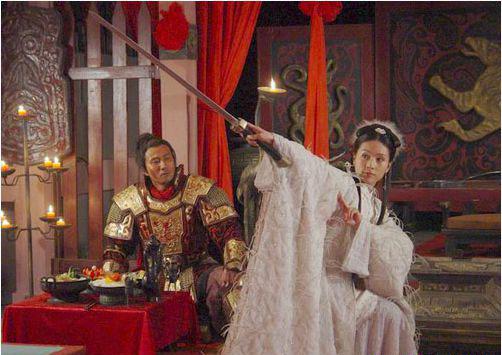 Ngu Cơ múa kiếm ngâm thơ ở Cai Hạ