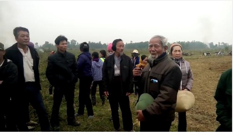 Cụ Lê Đình Kình; ảnh cắt từ clip ngày 10/3/2017