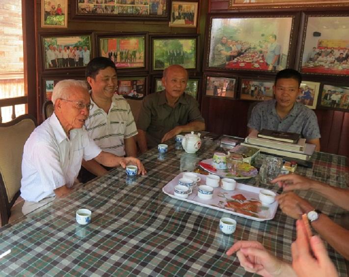 GS Hồ Ngọc Đại trong buổi giao lưu sáng ngày 7/9/2019. Ảnh: Vũ Văn Quang