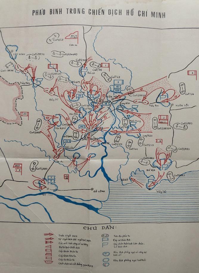 Pháo binh trong Chiến dịch Hồ Chí Minh
