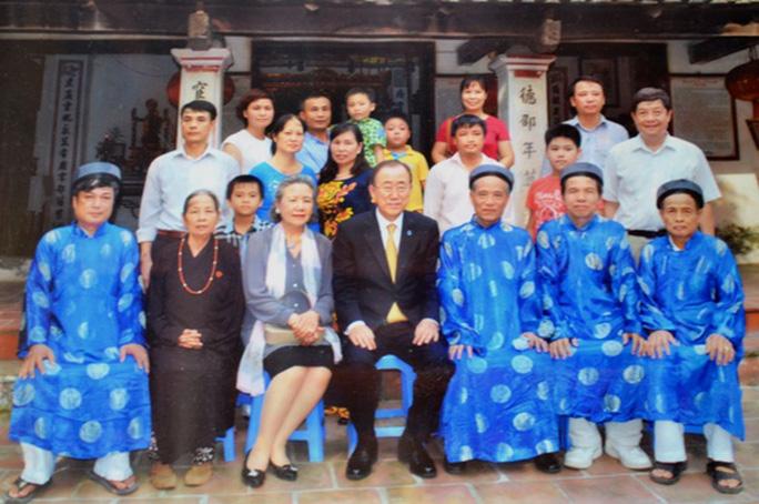 Cựu Tổng Thư ký Liên Hiệp Quốc ông Ban Ki Moon không phải gốc Việt Nam.