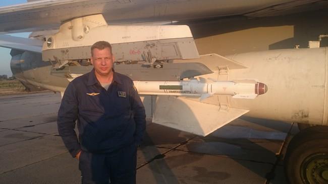 Thiếu tá phi công Rumyantsev Sergey Aleksandrovich được cho là đã tử nạn