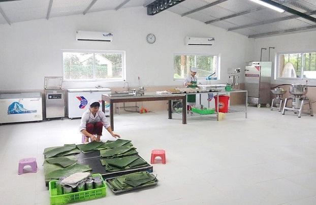 Xưởng chế biến thực phẩm tại Ba Vì - Hà Nội